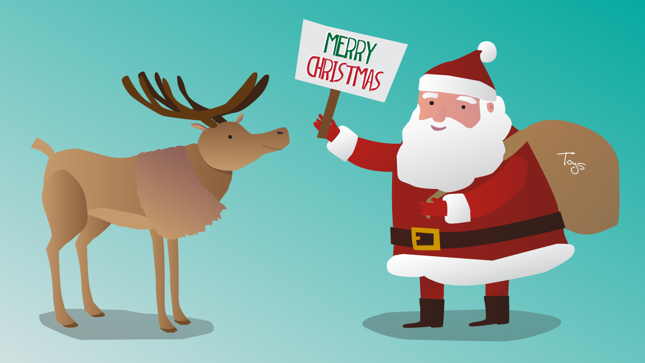 Xmas Animated Video Message